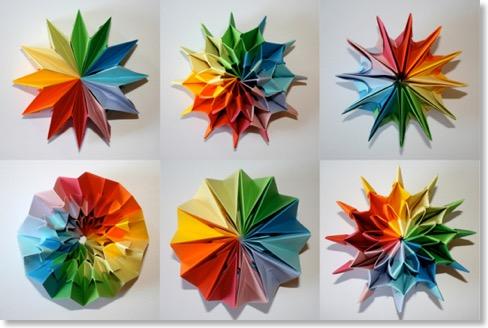 modulaire senbazuru vid os pour apprendre l 39 origami. Black Bedroom Furniture Sets. Home Design Ideas