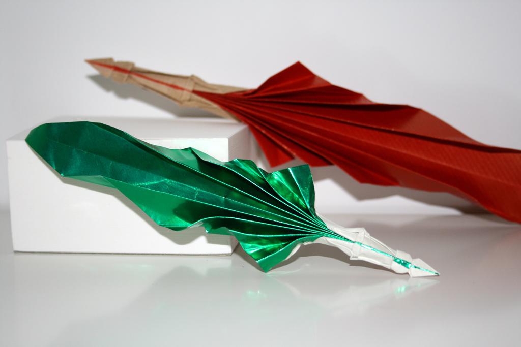 plume d 39 criture senbazuru vid os pour apprendre l 39 origami. Black Bedroom Furniture Sets. Home Design Ideas